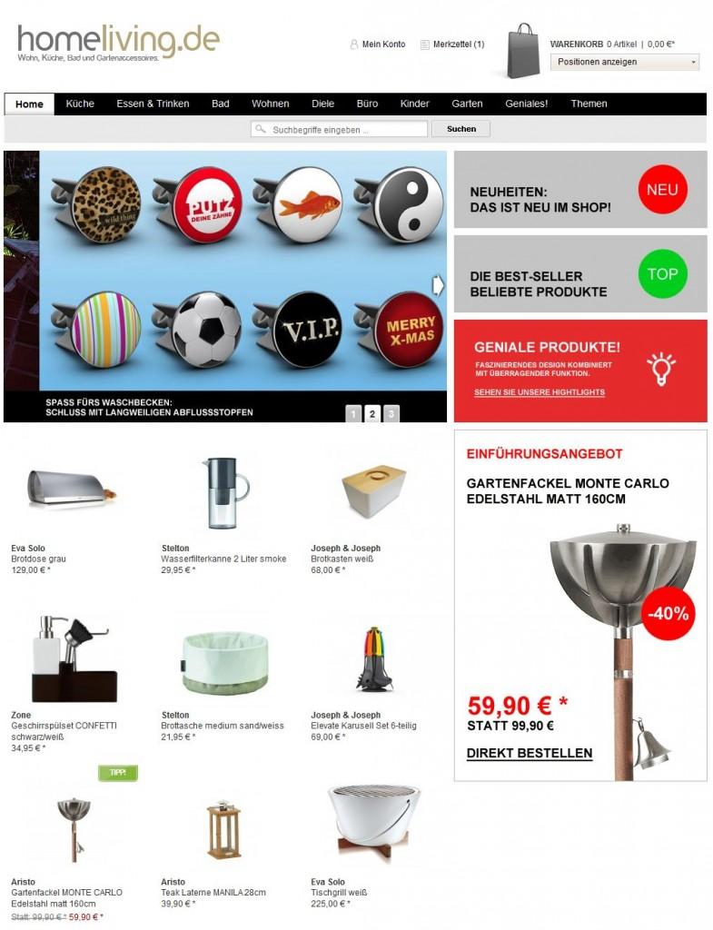 Shop für Küche Bad und Wohnzimmer